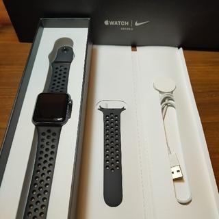 アップルウォッチ(Apple Watch)のApple Watchシリーズ3 42mm GPSモデル(腕時計(デジタル))