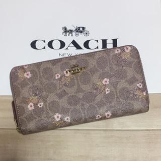 コーチ(COACH)の新品 [COACH コーチ] 長財布 小花柄(財布)