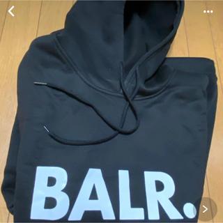 【特価】BALR.ボーラ― パーカーBLACK(L)フーディ
