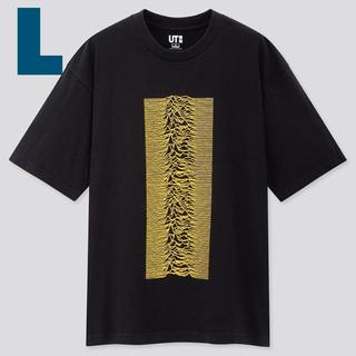 ユニクロ(UNIQLO)のL UNIQLO Joy Division Tシャツ ブラック(Tシャツ/カットソー(半袖/袖なし))