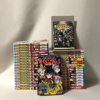 【全巻初版】僕のヒーローアカデミア 全巻+スマッシュ、雄英白書、0.R巻セット