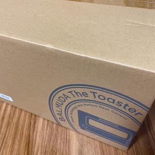バルミューダ(BALMUDA)の[新品・未開封]バルミューダ スチームオーブントースター K01E-WS(調理道具/製菓道具)