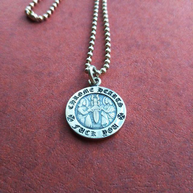 Chrome Hearts(クロムハーツ)のねんとし様専用 Chrome  Hearts  エンジェルメダル  メンズのアクセサリー(ネックレス)の商品写真