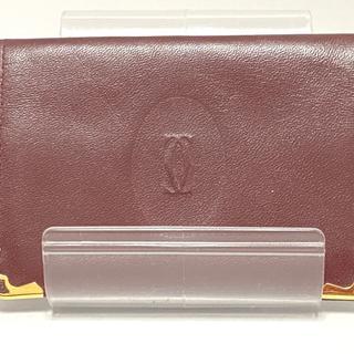 カルティエ(Cartier)のカルティエ カードケース マストライン(名刺入れ/定期入れ)