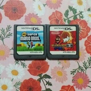 ニンテンドーDS - DSソフト、スーパーマリオブラザーズ&マリオバスケセット、ソフトのみ