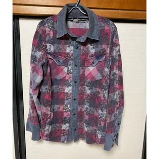 アユイテ(AYUITE)のアユイテ AYUITE チェックシャツ 黒(シャツ)