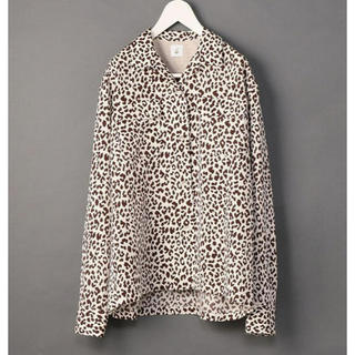 BEAUTY&YOUTH UNITED ARROWS - <6(ROKU)>LEOPARD PRINT SHIRT/シャツ  レオパード