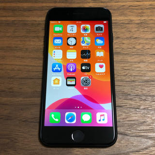 SIMフリー iPhone7 128GB ブラック 本体のみ 185