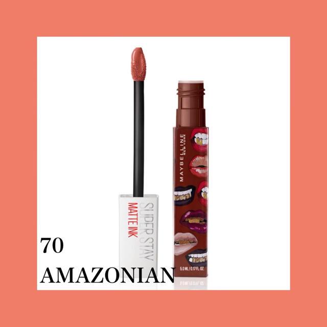 MAYBELLINE(メイベリン)のメイベリン マットインク 70番 コスメ/美容のベースメイク/化粧品(口紅)の商品写真