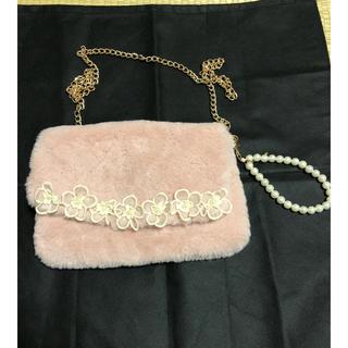 LIZ LISA - 最終価格!リズリサ☆可愛いピンクのショルダーバッグ パーティーバッグ、ポーチ