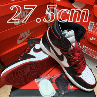ナイキ(NIKE)のNIKE AIR JORDAN 1 RETRO HIGH BLOODLINE(スニーカー)