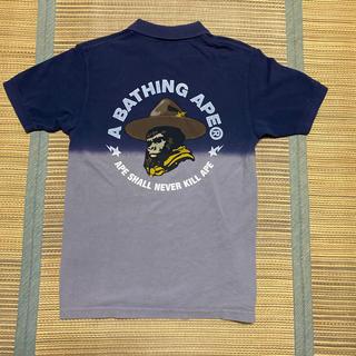 アベイシングエイプ(A BATHING APE)のAPE BABY MILO  BAPE ポロシャツ tシャツ  generals(Tシャツ/カットソー(半袖/袖なし))