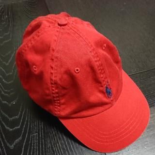 ポロラルフローレン(POLO RALPH LAUREN)のRALPH LAUREN キャップ 赤色(キャップ)