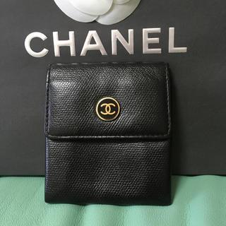 シャネル(CHANEL)のCHANEL シャネル コインケース 小銭入れ 折り財布 財布 (コインケース/小銭入れ)