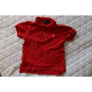 POLO RALPH LAUREN - POLO by Ralph Lauren■ポロシャツ☆赤♪24M☆90サイズ♪美