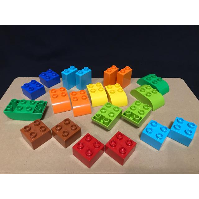 Lego(レゴ)のデュプロ 基本ブロック 拡張用 バラエティー ブロックセット キッズ/ベビー/マタニティのおもちゃ(積み木/ブロック)の商品写真