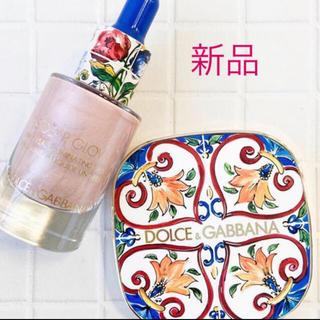 ドルチェアンドガッバーナ(DOLCE&GABBANA)の♡ドルガバ コスメ ツヤツヤベースセット 美品 未使用♡(化粧下地)