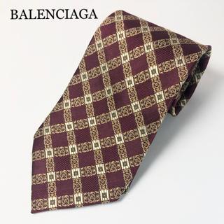 バレンシアガ(Balenciaga)のBALENCIAGA  バレンシアガ シルクネクタイ(ネクタイ)