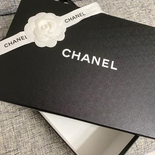 シャネル(CHANEL)のシャネル・シューズ空箱とリボン(ショップ袋)
