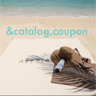 ALEXIA STAM - alexiastam beachset カタログ クーポン