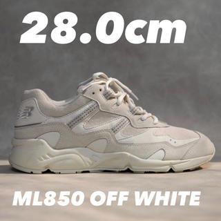 ニューバランス(New Balance)の新品 ML850CG OFF WHITE Monopack 28.0cm(スニーカー)