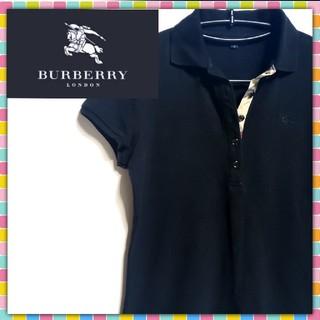 バーバリー(BURBERRY)のBURBERRYLONDON バーバリーロンドン ポロシャツ ノバチェック M(ポロシャツ)