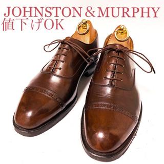 REGAL - 396.JOHNSTON&MURPHY REGAL製 ストレートチップ US7