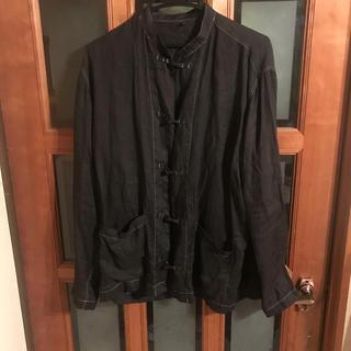 ムジルシリョウヒン(MUJI (無印良品))の無印良品 チャイナシャツ L〜XL  後染め(シャツ)