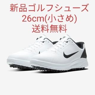 NIKE - 【新品26】NIKE ナイキゴルフシューズ インフィニティGホワイト 白