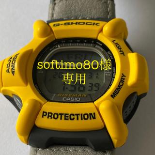ジーショック(G-SHOCK)の【未使用】CASIO G-SHOCK DW-9100YJ-9T ライズマン 黄色(腕時計(デジタル))