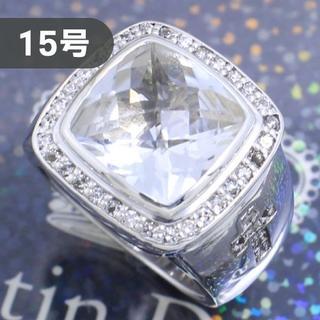 ジャスティンデイビス(Justin Davis)のジャスティンデイビス 15号 MTSリング ダイヤモンドクロス 超高級 人気(リング(指輪))