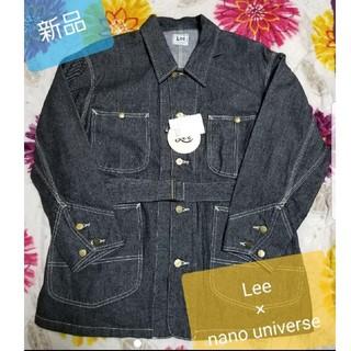 リー(Lee)の新品 LEE nano universe コラボ デニムジャケット カバーオール(Gジャン/デニムジャケット)