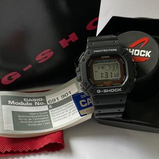 ジーショック(G-SHOCK)の【未使用】CASIO G-SHOCK DW-5300-1BV MI1モデル(腕時計(デジタル))