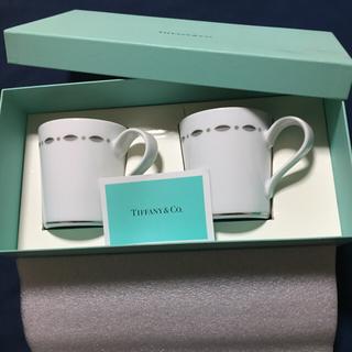 ティファニー(Tiffany & Co.)のティファニー ペア マグカップ(グラス/カップ)