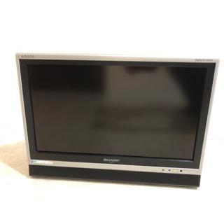 シャープ(SHARP)の液晶テレビ SHARP AQUOS 20型 ★ ジャンク品(テレビ)