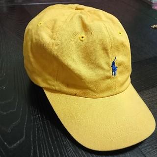 ポロラルフローレン(POLO RALPH LAUREN)のRALPH LAUREN キャップ 黄色(キャップ)