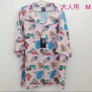 ディズニー(Disney)のプリンセス アロハシャツ 開襟シャツ(シャツ/ブラウス(半袖/袖なし))
