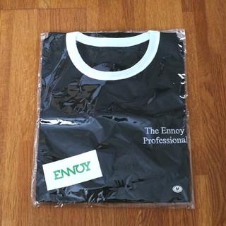 送込M ennoy RINGER TEE (BLACK x WHITE)(Tシャツ/カットソー(半袖/袖なし))