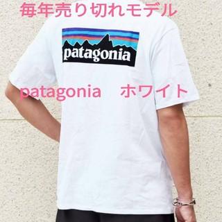 patagonia - ラクマ限定価格!パタゴニアTシャツホワイト Sサイズ