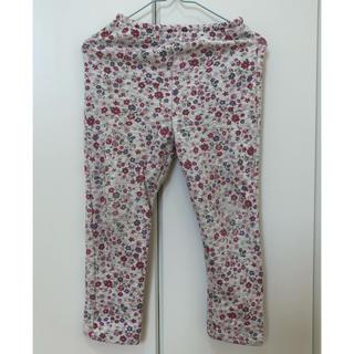 ベルメゾン(ベルメゾン)のベルメゾン 小花柄 裏起毛 長ズボン パンツ ボトムス 女の子 100(パンツ/スパッツ)
