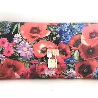 ドルチェアンドガッバーナ(DOLCE&GABBANA)のドルチェアンドガッバーナ 長財布 - 花柄(財布)