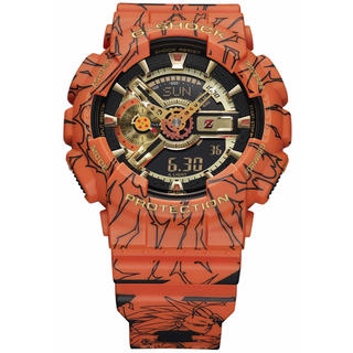 ジーショック(G-SHOCK)の2個 ジーショック ドラゴンボールZ コラボ GA-110JDB-1A4JR(腕時計(デジタル))