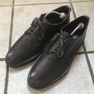 Alden - 干場 WH プレーントゥー 革靴