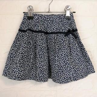 familiar - ファミリア 小花柄スカート 110