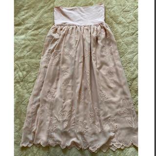 franche lippee - フランシュリッペ 刺繍が可愛いロングスカート