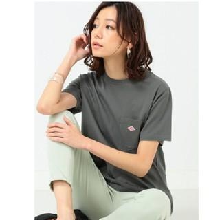 DANTON - 【新品】DANTON ダントン クルーネックTシャツ☆36サイズ☆チャコールグレ