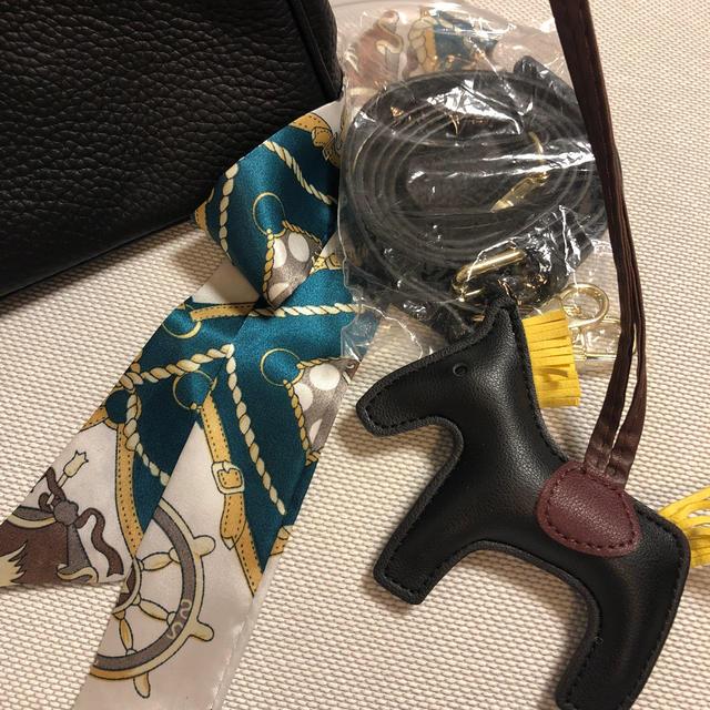 エルメスバーキンタイプバッグ黒ゴールド30おまけ付き レディースのバッグ(ハンドバッグ)の商品写真