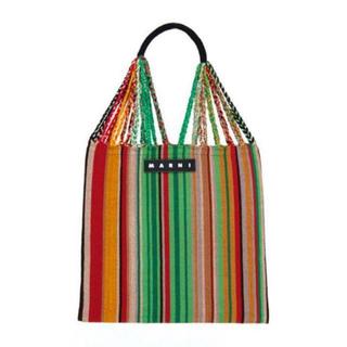 Marni - 【最安値】マルニ マルニマーケット ハンモックバッグ マルチグリーン 新色