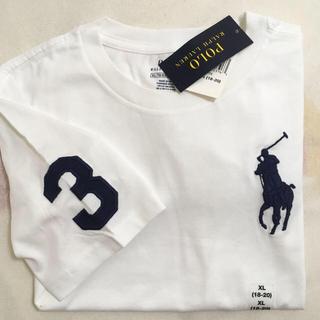 POLO RALPH LAUREN - 新品POLOラルフローレンの半袖Tシャツ ビッグポニー ホワイト
