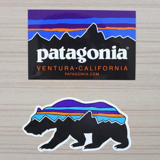 パタゴニア(patagonia)のパタゴニア ステッカー カリフォルニア ベアー セット品(その他)